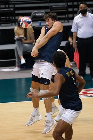 2021 Big West Mens Volleyball Tournament First Round