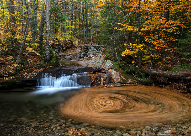 Fall colors and crisp mornings are all signs of the changing season that is autumn in the White Mountain area of New Hampshire