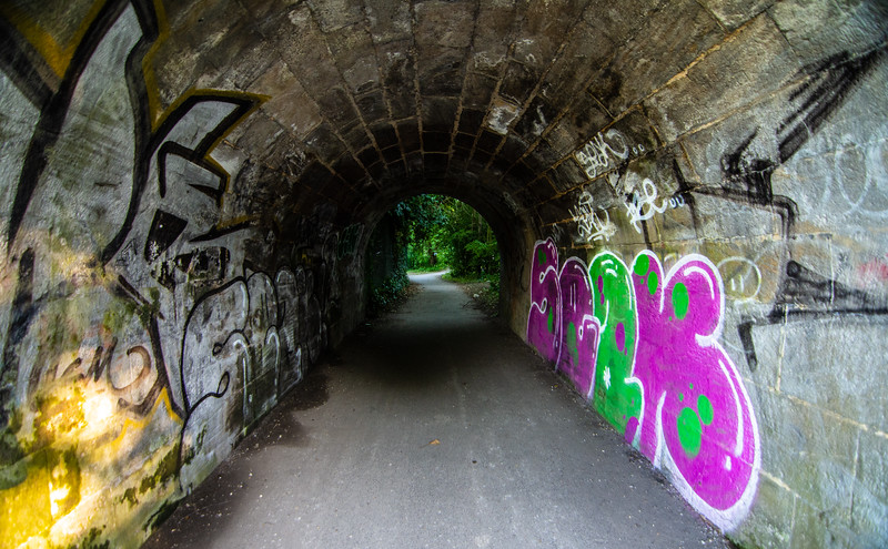 Tunnel on the towpath