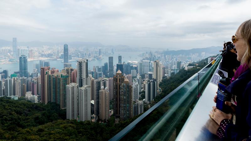 HONG KONG VII: VICTORIA PEAK AND THE WALK BACK HOME