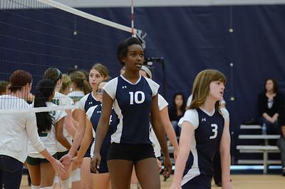 Girls Fresh. B Volleyball Vs Waubonsie 2013