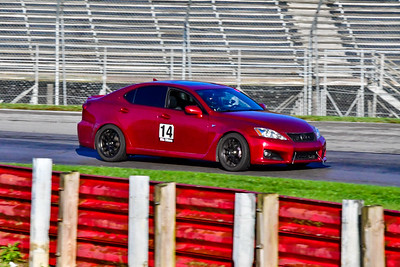 2020 OVR SCCA Oct 16 MO TrackDay Burgandy Lexus 14
