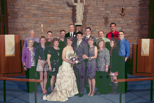 Cassen Wedding 6_14 After