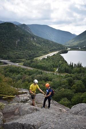 Orientation 2018: Rumney Rock Climbing
