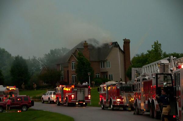 Elgin / South Elgin Lightning Strike Box Alarm - June 23, 2010