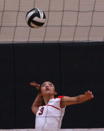 Dulles JV volleyball 2012