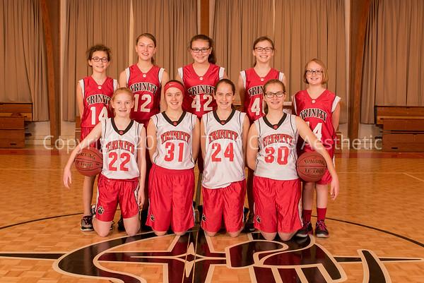 2017 Trinity Lutheran Basketball