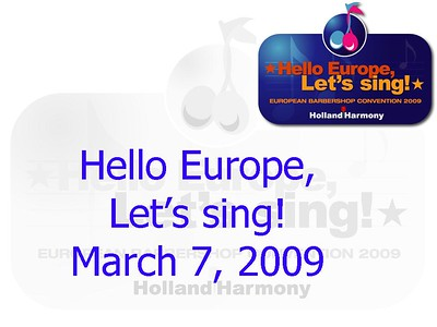 2009-0307 HH-EBC -Saturday Show