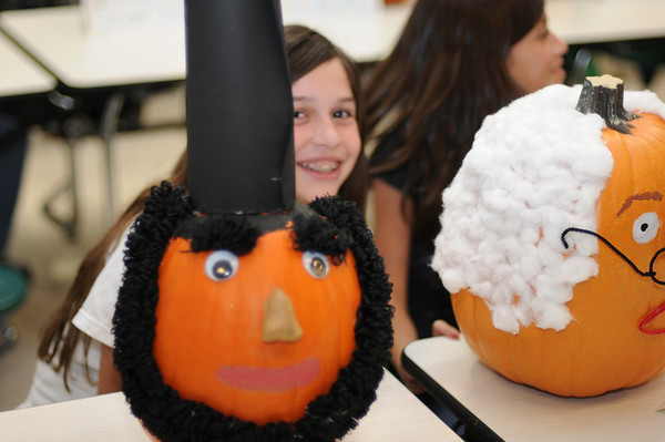 Famous Person Pumpkin Project