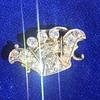 1.52ctw Victorian Diamond Crown Motif Clasp 1