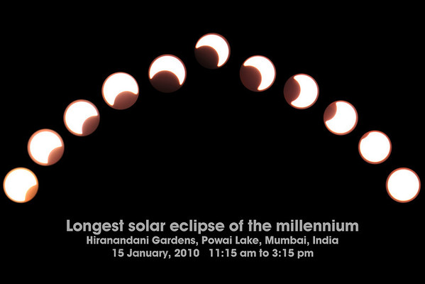 Solar Eclipse @ Mumbai, India 15 Jan 2010