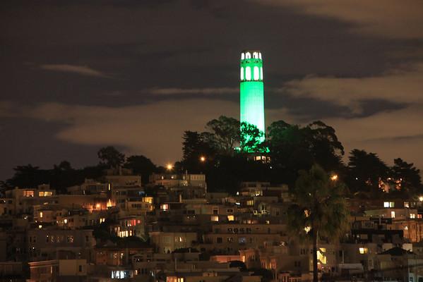 Coit Tower - Feburary 6th, 2009