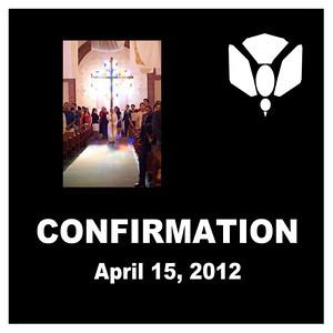 Confirmation - St. Thomas More Newman Parish  April 2012