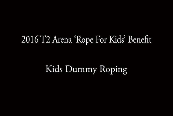 Kids Dummy Roping