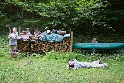 Steve's Cabin Aug 2014