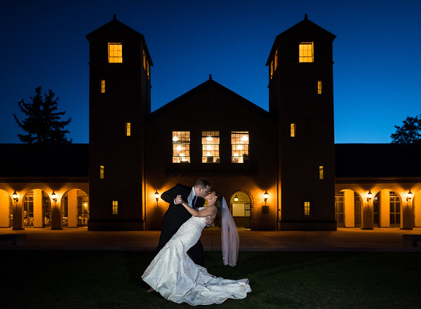 Stephanie & KJ | City Park Pavilion