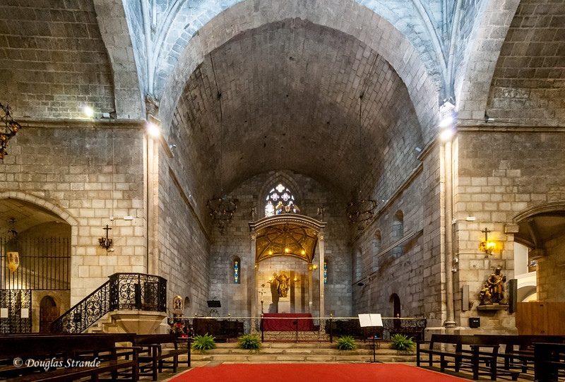 Barcelona: Church of Santa Anna