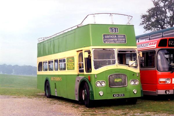 27th September 1992: Showbus Rally, Woburn