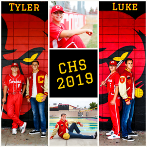 Luke and Tyler Senior Pics