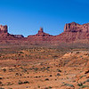 Panorama of Monument Valley, Utah
