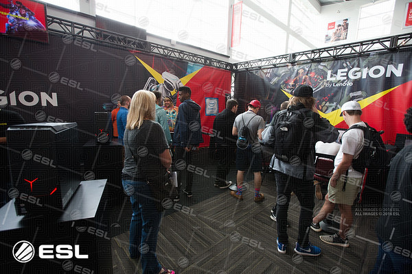 ESL Pro League Season 5 Finals - Sponsors and Booths
