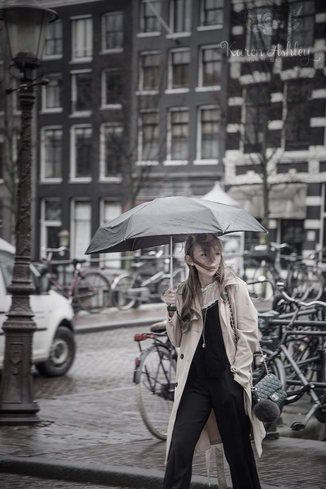 girl amsterdam netherlands