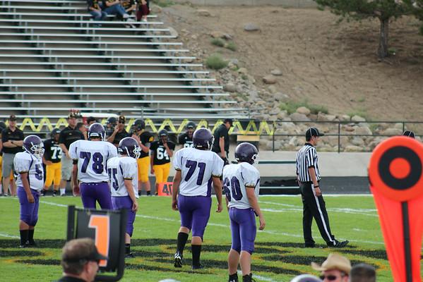 LHS Football vs Galena 2014