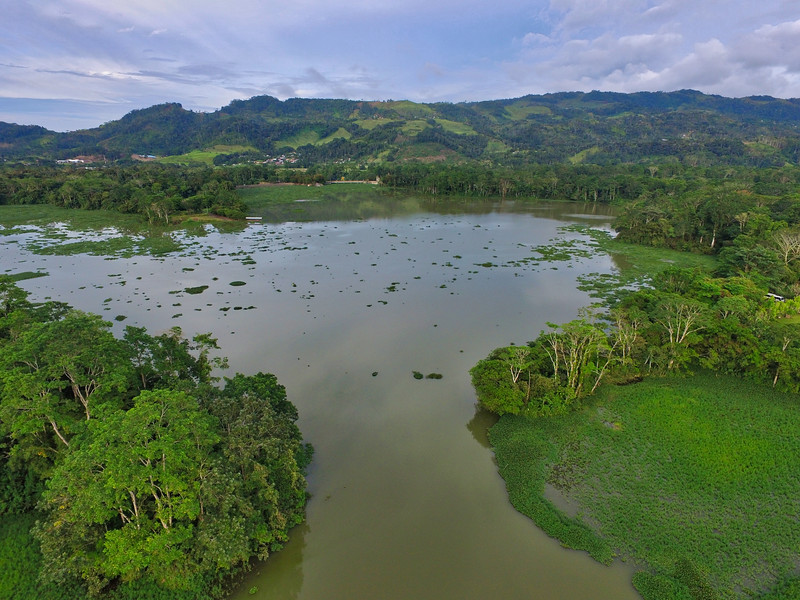 View of the Lake in Turrialba, Costa Rica