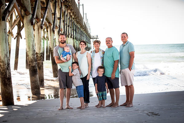 Topsail Island Family Photos
