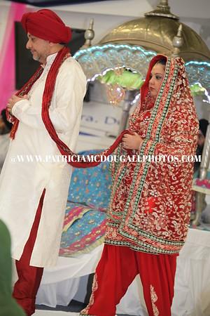 Triptpal Kaur Wedding Day