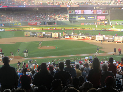 MLB Celebrity Softball Game 2014