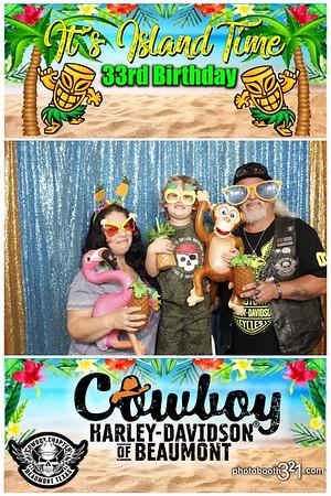 Cowboy Harley- Island Time 2021
