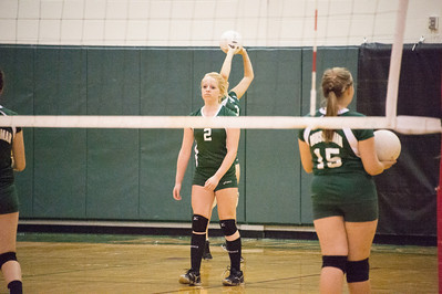 9/10/2012 Game - Musselman Freshman Girls Volleyball