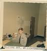 Teletype Office - Cadet William Lichtenberger