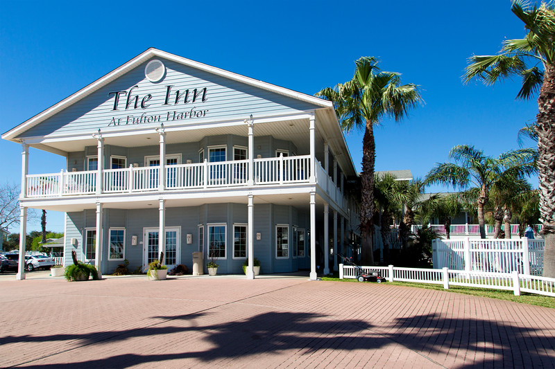 We reach our hotel:  The Inn at Fulton Harbor.