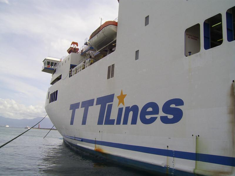 2007 - F/B TRINACRIA in Napoli.