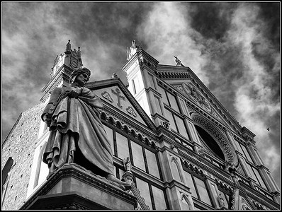 Santa Croce black and white