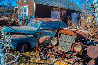 Rusted, busted, rundown