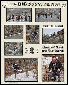 Little BIG Dog Trail Run Participant Collages
