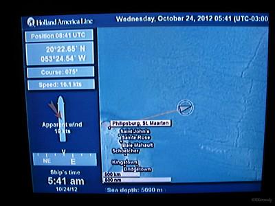Day at Sea Oct 24