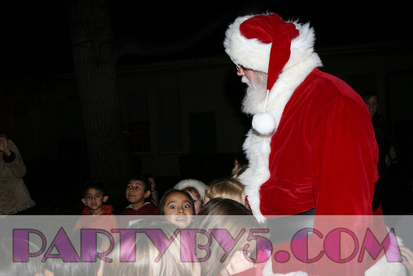 Santa Sightings at Beethoven Elementary