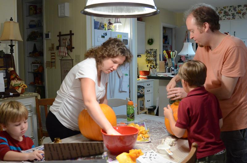 Gutting the Pumpkins
