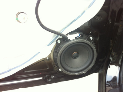2012 Kia Forte LX Front Speaker installation - USA