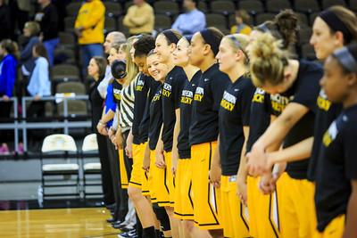NKU Women's Basketball vs Ohio University 11-25-2014
