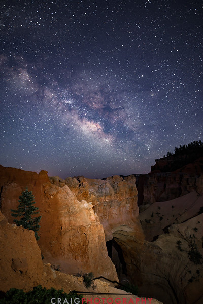 Milky Way over Bryce Canyon Utah 4