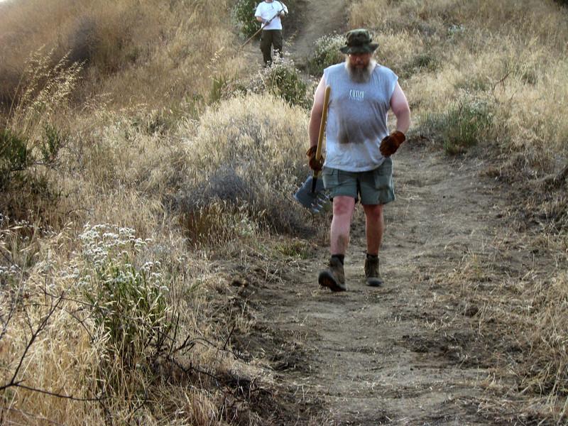 20080625016-Glendale Las Flores Trailwork.JPG
