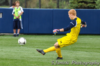 Michigan Men's Soccer Vs Northeastern 9-9-12