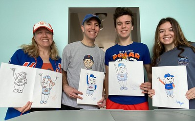 March 25-?: The 7 Line, Mets Drawing Art Lessons
