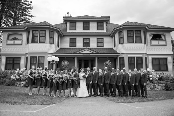 Karen & Bryon:  Wedding Party & Family Formals