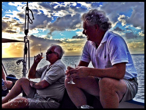 Gents Rum Tasting at sunset.jpg